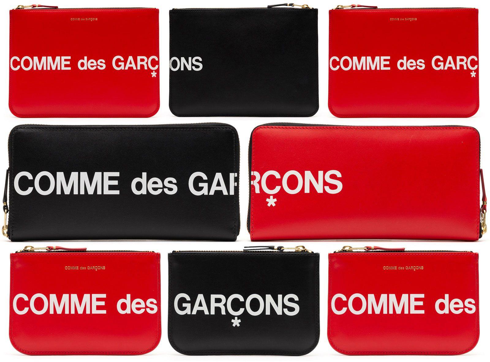 リストック COMME des GARÇONS Huge Logo Wallet