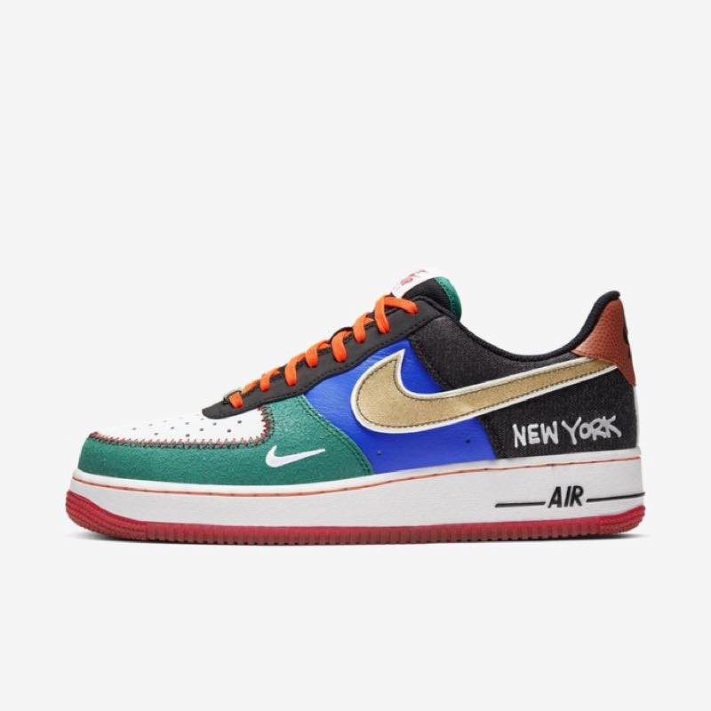 "海外 10月17日発売予定 NIKE AIR FORCE 1 LOW ""WHAT THE NYC"""