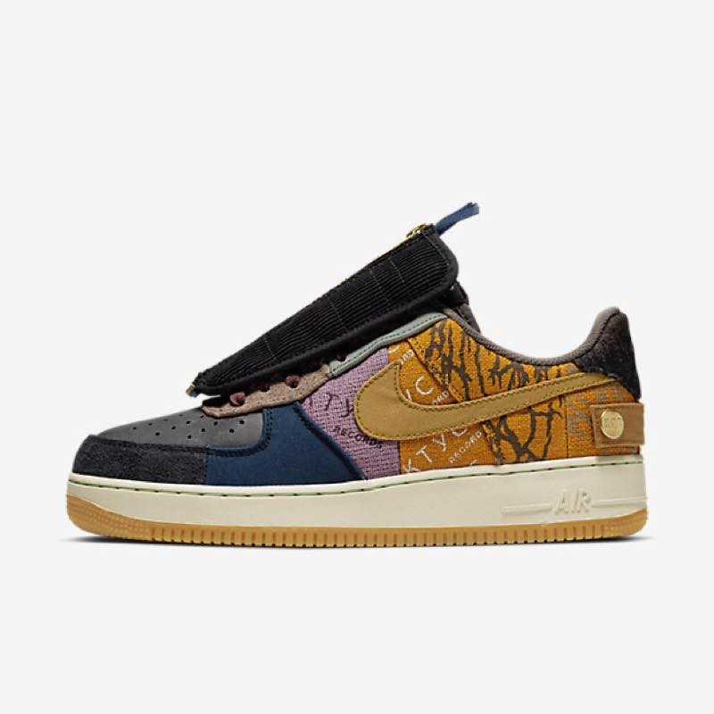 11月16日発売予定 TRAVIS SCOTT x NIKE AIR FORCE 1 CACTUS JACK